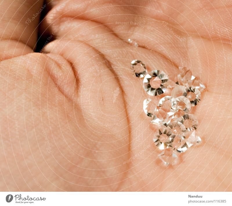 Hand Stone Glittering Trust To hold on Luxury Jewellery Noble Safety (feeling of) Rich Hard Quality Diamond Precious Expensive Precious stone