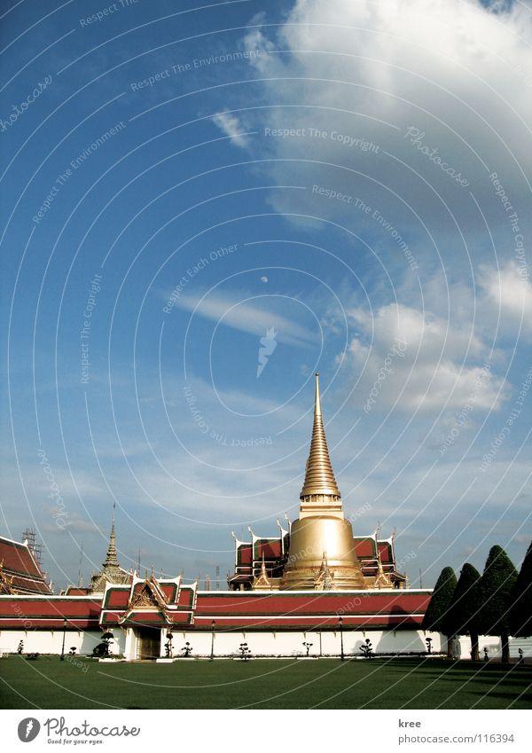 wat phra kaew Bangkok Thailand Asia Phra Kaew temple Emerald Buddha Grand Palace