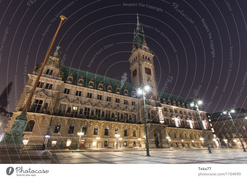 City Facade Esthetic Hamburg Landmark Monument Downtown Tourist Attraction Air Traffic Control Tower Sightseeing Port City Ornament City hall