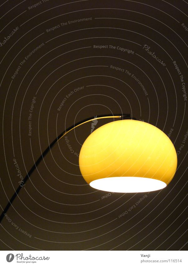... with my sister Lamp Light Dark Yellow Cozy Decoration Retro Round Room Furniture Household Bright cheeky Sphere Living or residing Interior design