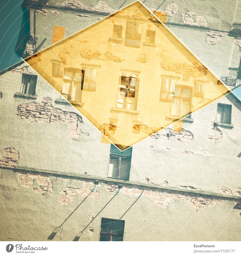 City Old House (Residential Structure) Window Wall (building) Architecture Building Wall (barrier) Stone Line Facade Flat (apartment) Design Living or residing