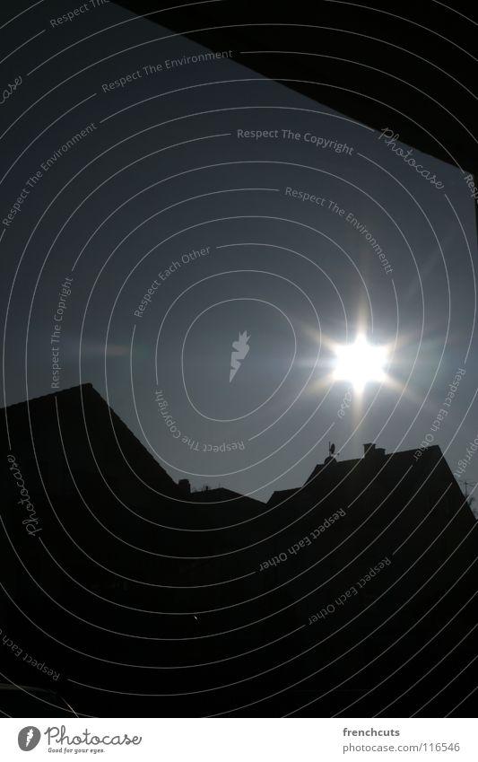 bamberg - day - night Bamberg Back-light Eerie Night Town Dark Black Sun Fear
