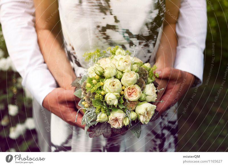 Woman Man Art Esthetic Wedding Bouquet Relationship Wedding couple Wedding ceremony Wedding party