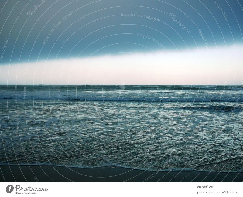Nature Water Sky Ocean Blue Clouds Dark Fear Horizon Dangerous Storm Ambiguous South Africa