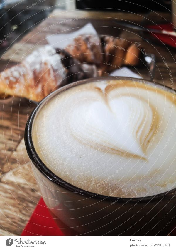 When in Rome: Coffee love Food Dough Baked goods Croissant Candy Nutrition Breakfast Slow food Beverage Hot drink Latte macchiato Cappuccino Glass Lifestyle