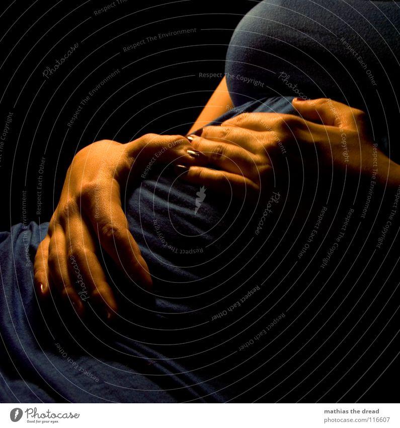 Woman Blue Hand Joy Black Love Death Feminine Orange Contentment Skin Fingers Clothing Mother Dress Soft