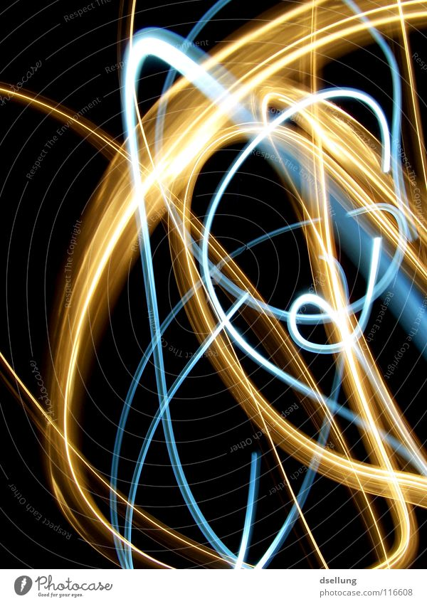 chaos theory Light Chaos Yellow Flashlight Dark Muddled Disorientated Surprise Cold Physics Visual spectacle Lightning Speed Time Exposure Encounter Converse