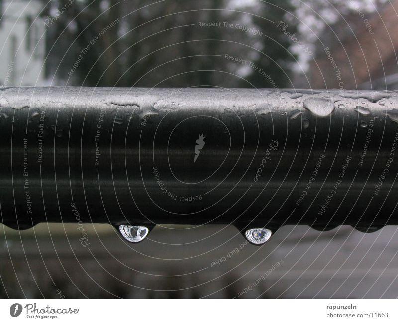 Water Gray Rain Drops of water Things Iron-pipe Damp Rod