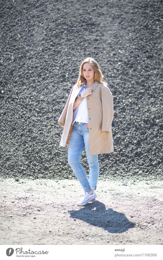 Human being Youth (Young adults) Beautiful Young woman 18 - 30 years Adults Feminine Fashion Hip & trendy Coat