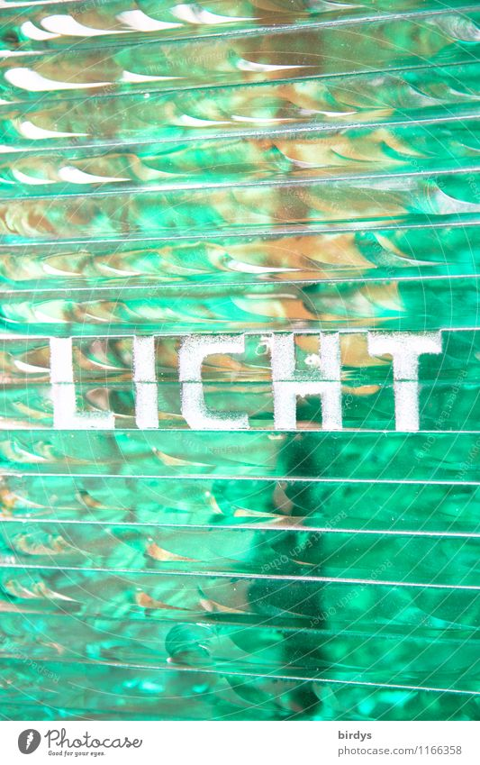 I'll give you the green light. Line Glass Characters Ornament Glittering Illuminate Esthetic Positive Green Turquoise Belief Death Longing Design Energy Peace