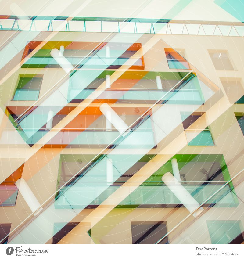 City Green Colour House (Residential Structure) Yellow Wall (building) Architecture Building Wall (barrier) Stone Line Facade Orange Design Decoration