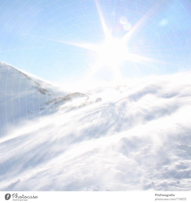 Blue White Sun Winter Black Cold Mountain Snow Death Stone Brown Rock Ice Wind Dangerous Threat