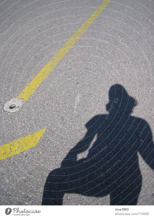 Human being Summer Joy Street Mountain Freedom Happy Europe Asphalt Hot Switzerland Considerable Shadow play Canton Canton Tessin