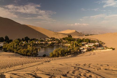 Take a time out in the oase Huacachina in Peru Vacation & Travel Tourism Trip Adventure Far-off places Freedom Sightseeing City trip Safari Expedition Camping
