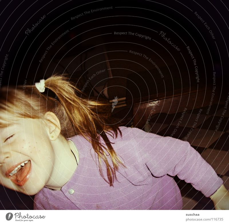 püppi findets funny ... Child Toddler Pippi Longstocking Braids Absurdity Playing Sing Loud Joy Hair and hairstyles Face Elastic hairband Laughter Funny Infancy