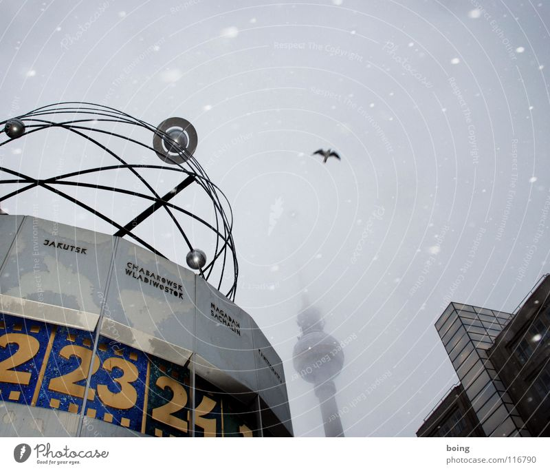 Meeting place: Ulan Bator, 14:30 hrs Fog Celestial bodies and the universe Meeting point Bird 23 Snowfall Tourist Kurfürstendamm Prompt Rotate Clock