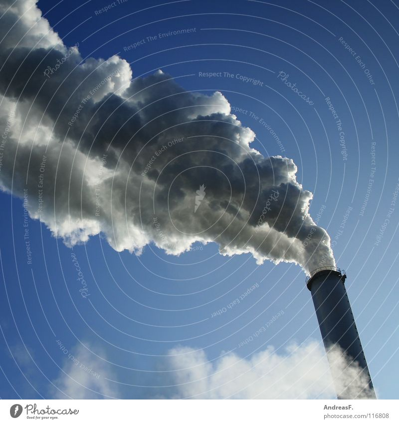 Sky Clouds Environment Industry Energy industry Climate Smoke Exhaust gas Odor Chimney Environmental pollution Steam Climate change