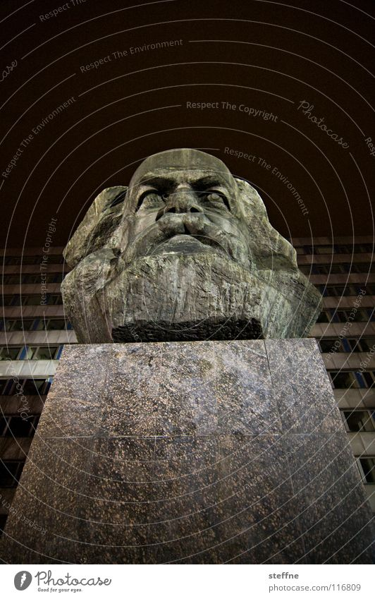Man Red Black Dark Work and employment Head Gray Art Germany Monument Past Statue Landmark GDR Russia Left