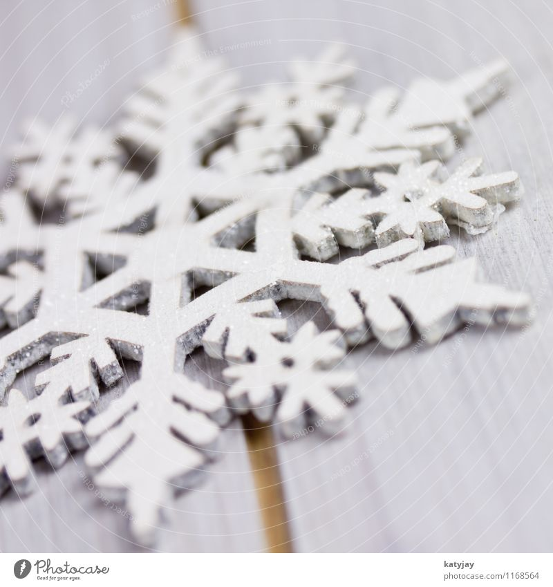 ice crystal Snowflake Christmas & Advent Star (Symbol) Christmas star Decoration Ice crystal Crystal structure Snow crystal Wood Seasons Tall highly known