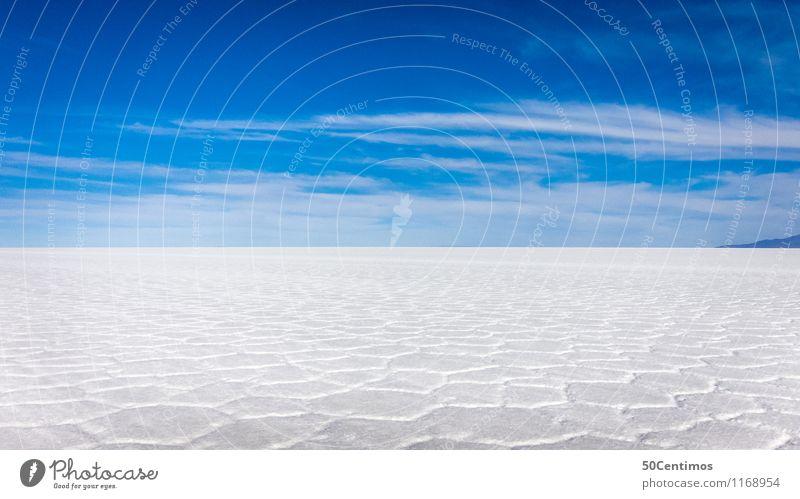 salt desert Vacation & Travel Tourism Trip Adventure Far-off places Freedom Environment Nature Clouds Horizon Beautiful weather Desert Salt flats Loneliness