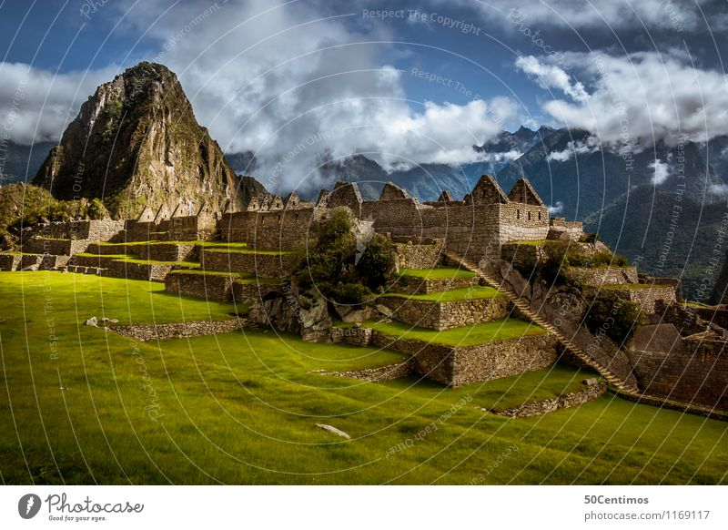 The Inca ruins in Cusco - Machu Picchu Vacation & Travel Tourism Trip Adventure Far-off places Sightseeing Mountain Environment Nature Landscape Clouds Climate