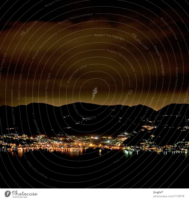 N8gem8 Dark Night Twilight Midnight Night watch Shift work Lake Italy Night light Night sky Clouds Promenade Mountain at night nightcap night landscape
