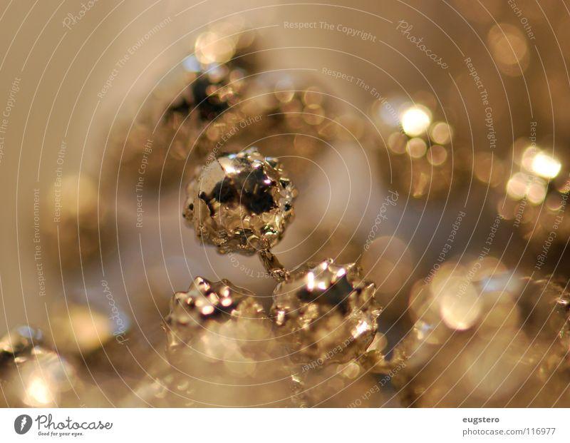 Christmas & Advent Gold Glittering Star (Symbol) Jewellery Chain Silver Precious metal Christmas decoration Platinum