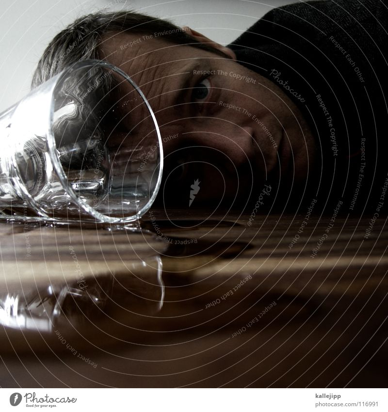 Man Water Hand Face Adults Eyes Life Feasts & Celebrations Glass Multiple Nose Table Many Drinking Search Gastronomy