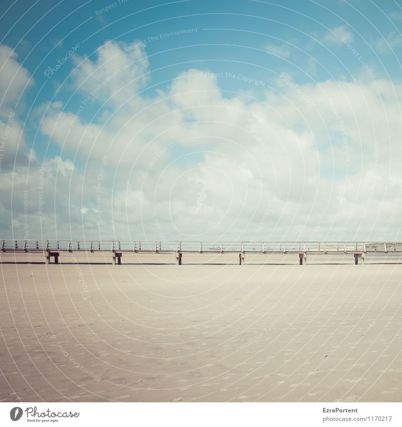 Sky Nature Vacation & Travel Blue Summer White Sun Relaxation Ocean Landscape Calm Clouds Beach Environment Life Sand