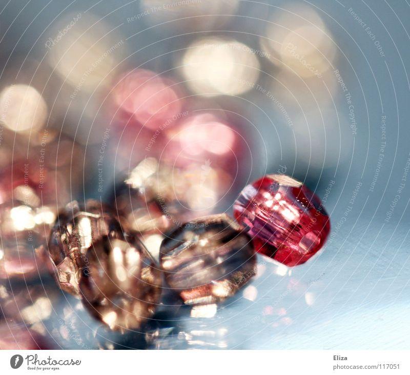 Beautiful Precious stone Glass Pink Glittering Kitsch Luxury Jewellery Pearl Handicraft Diamond Expensive Barbie Glass bead