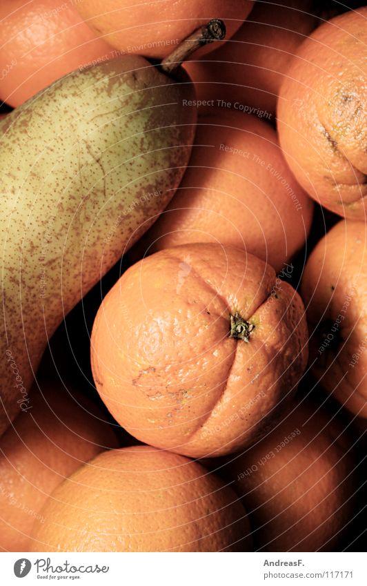 Orange Healthy Fruit Sweet Vitamin Pear Vegetarian diet Orange peel Fruit basket Vitamin C