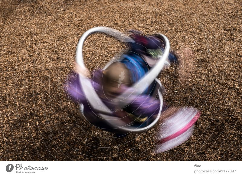 Human being Child Youth (Young adults) Joy Movement Playing Happy Masculine Leisure and hobbies Infancy Rotate Playground 3 - 8 years