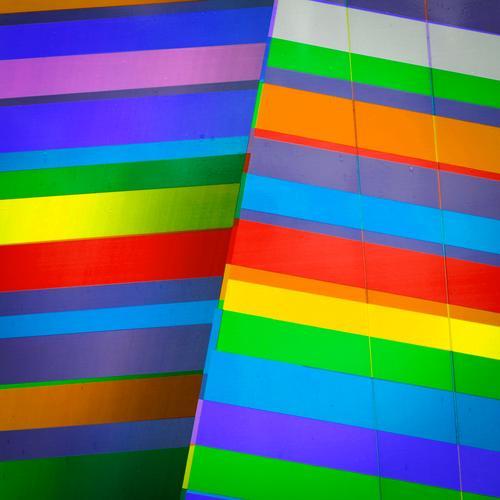 colour photograph Elegant Style Design Line Stripe Exceptional Cool (slang) Hip & trendy Modern Multicoloured Colour Perspective Colour photo Close-up Abstract