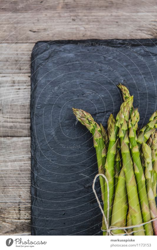 Green asparagus Food Vegetable Asparagus season Asparagus head Asparagus spears Asperagus harvest Nutrition Lifestyle Luxury Healthy Healthy Eating Fitness