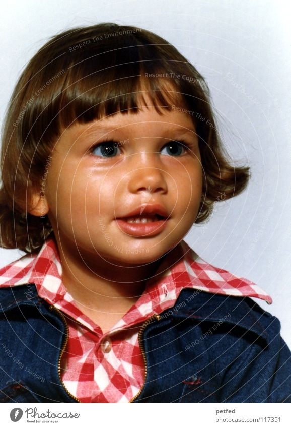 Child Girl Beautiful Old Face Eyes Laughter Large Fresh Sweet Cute Toddler Former