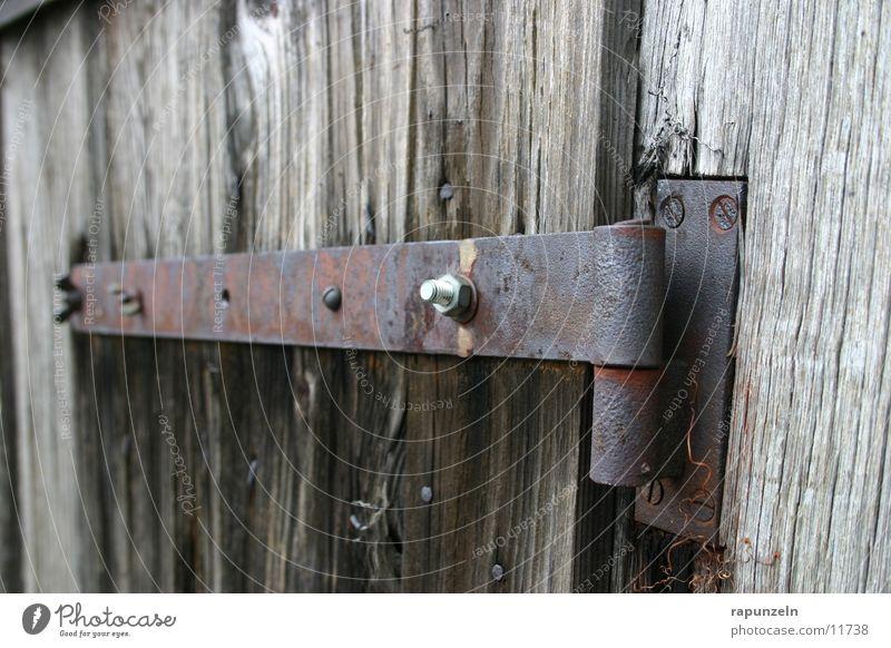 hinges Wood Derelict Broken Ruin Hinge Screw Industry Hut Old Rust Metal