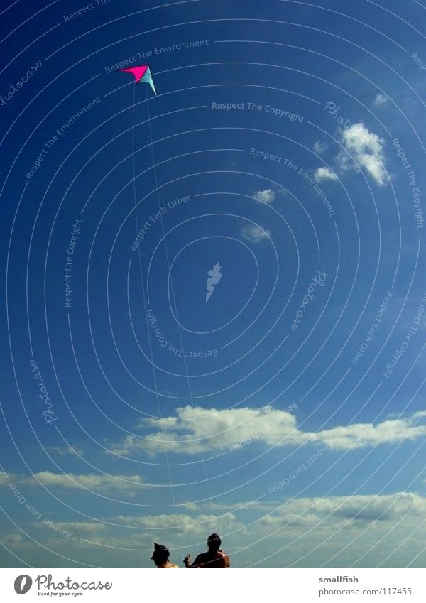 Human being Sky Blue Beach Clouds Wind Aviation Dragon Denmark