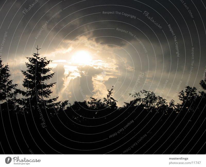 shapshot01 Winter mood Dark clouds Sky Sun cross-fade