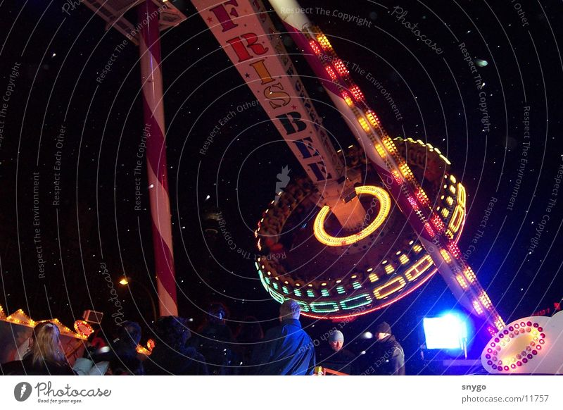 hype Fairs & Carnivals Potter's wheel Speed Frisbee Panic Night Electrical equipment Technology Fear Joy