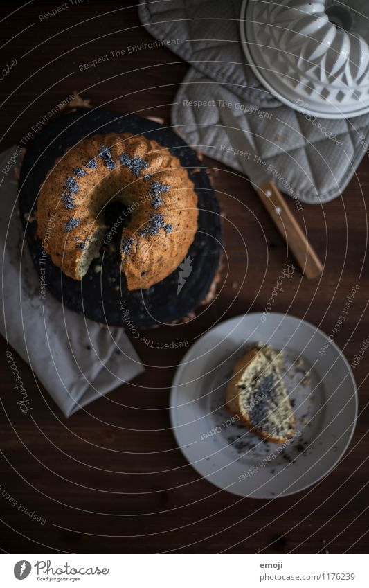 Dark Nutrition Sweet Delicious Candy Cake Dessert To have a coffee Gugelhupf