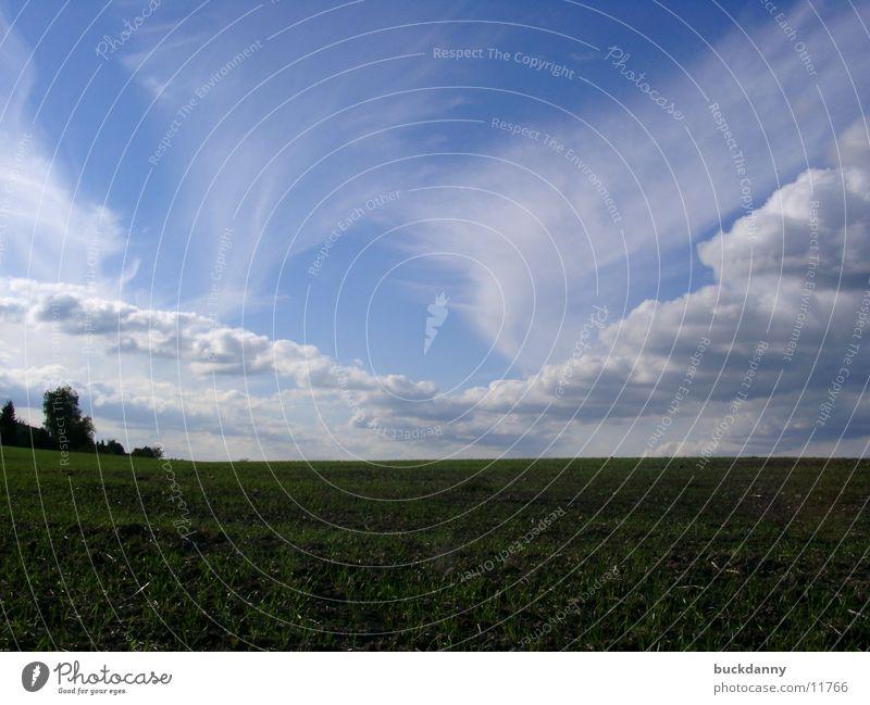 Sky Clouds Field