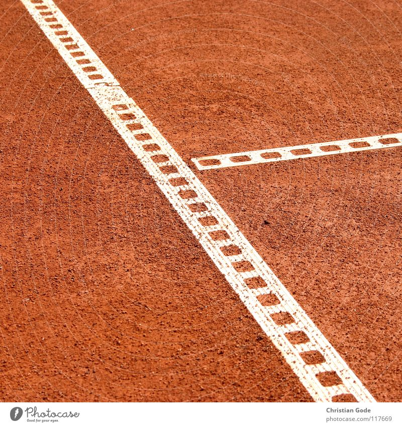 T line Tennis Sporting grounds Playing field Service Red Line Summer Volleyball (sport) Beat Structures and shapes Reserved Baseline Footprint Blow up