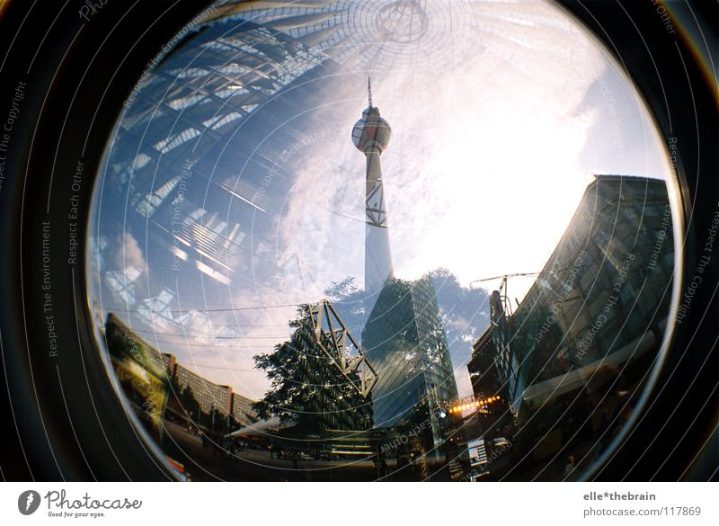 Alexanderplatz - Potsdamer Platz Town High-rise Building Landmark Monument Berlin capital Berlin TV Tower