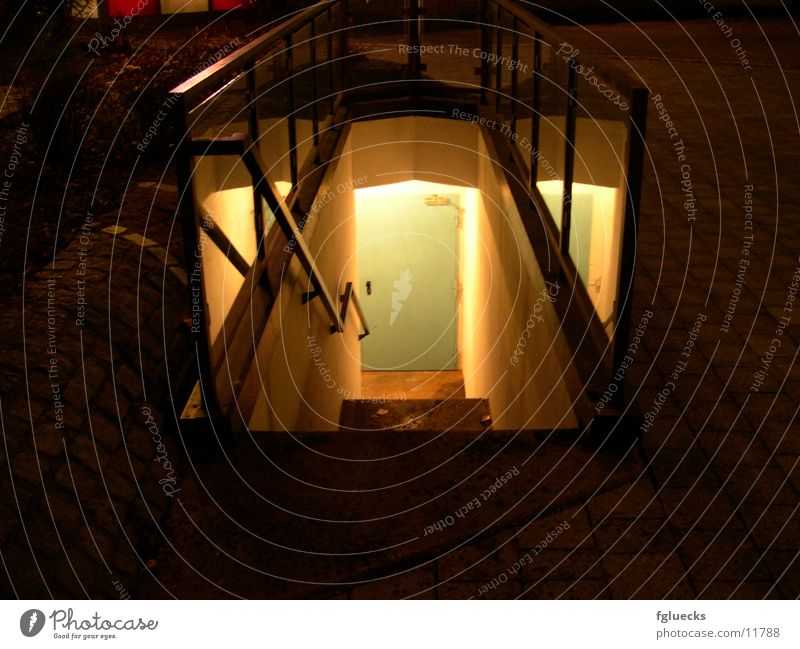 The door in the cellar Cellar Night Things Door Stairs Cellar door Cellar stairs