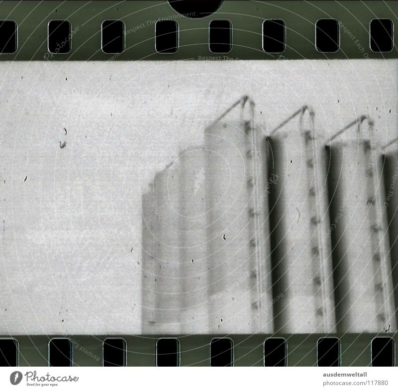 Industry Negative Scan Black & white photo Analog Chemistry Detail Commercial enterprise