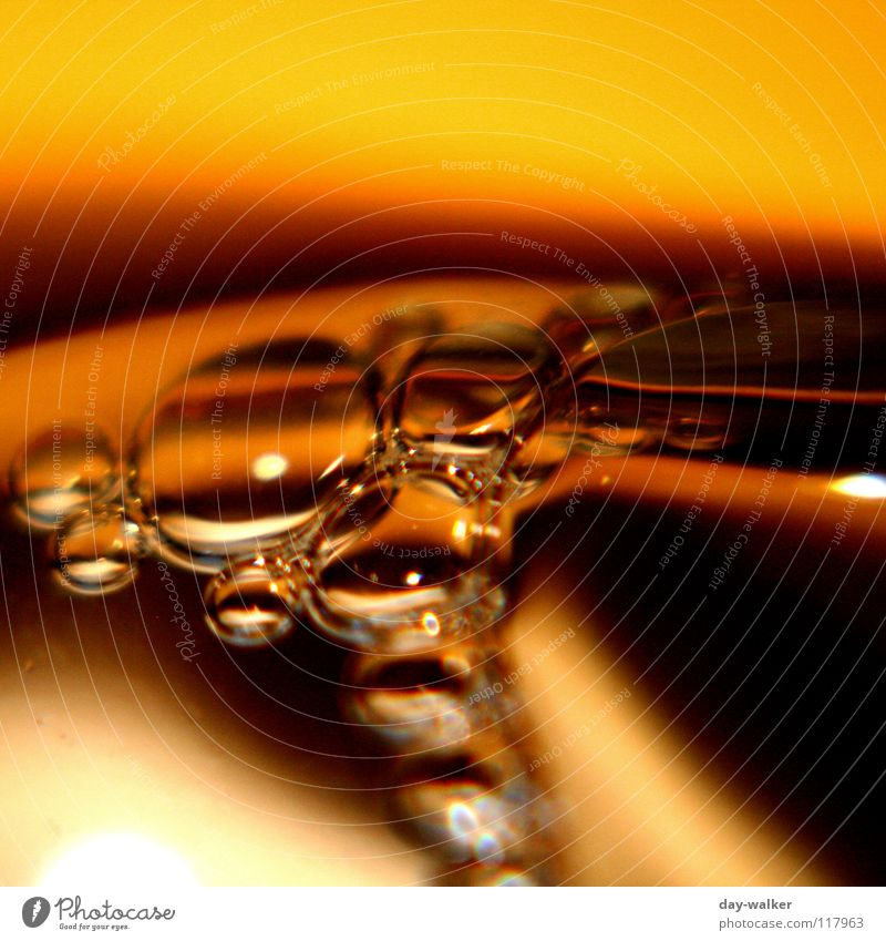 Water Black Yellow Dark Air Bright Brown Fluid Bubble Blow Beige