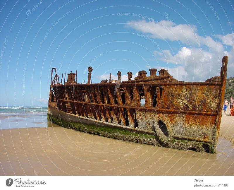 Mohena Wreck Historic mohena
