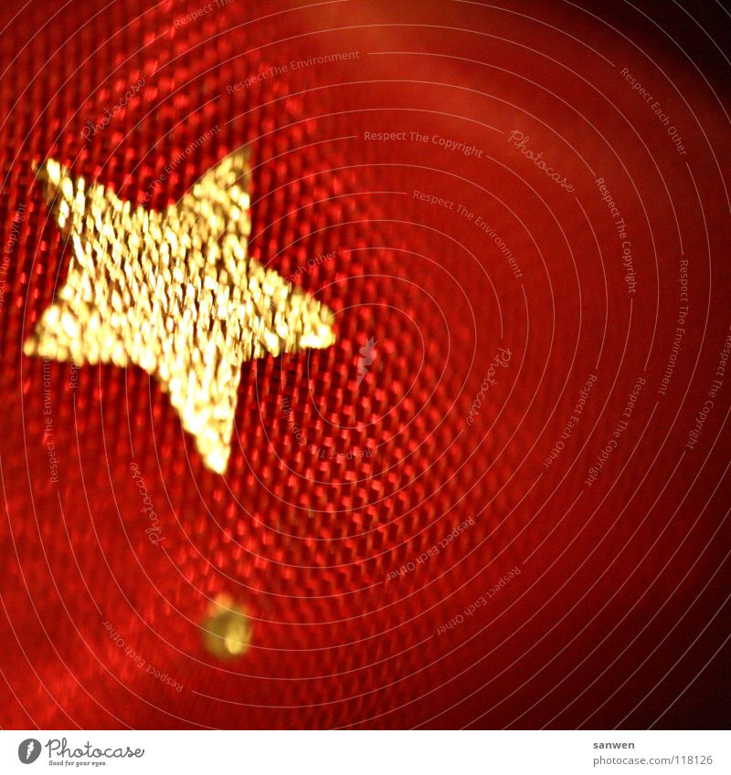 Christmas & Advent Red Gold Star (Symbol) Near Point Cute Macro (Extreme close-up) Planet Festive Celestial bodies and the universe Comet Asteroid