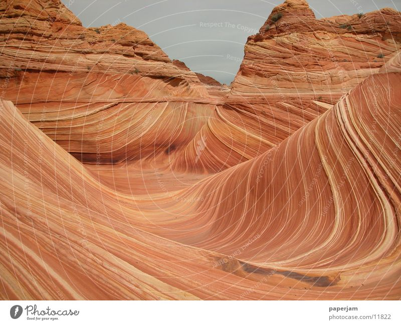 Nature Stone Landscape Rock Erosion North America Coyote Buttes