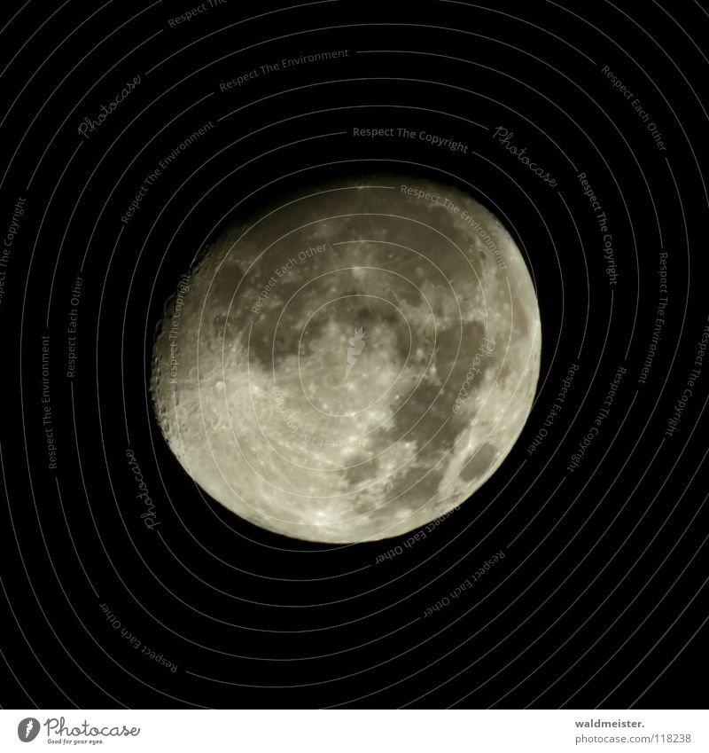 Sky Dream Moon Planet Celestial bodies and the universe Astronomy Astrology Volcanic crater Werewolf Moonstruck Astrophotography